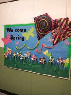 Spring bulletin board idea.