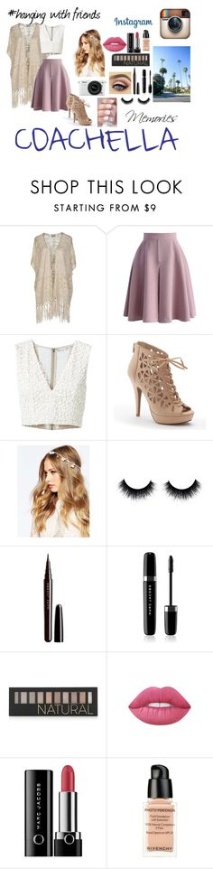 """""""Coachella"""" by ariel-illiana-rosario ❤ liked on Polyvore featuring Vero Moda, Chicwish, Alice + Olivia, Apt. 9, ASOS, Nikon, Marc Jacobs, Forever 21, Lime Crime and Givenchy"""