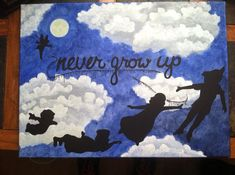 Peter Pan painting on Etsy, $40.00