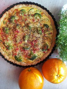 Tarta warzywna - wegetariańska.