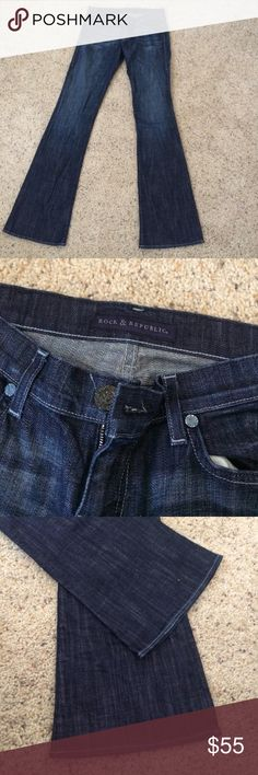 Rock and Republic bootcut Jeans Great jeans only worn once Rock & Republic Jeans Boot Cut