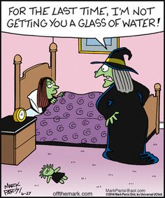 Funny Halloween Jokes, Halloween Cartoons, Halloween Quotes, Cute Halloween, Funny Jokes, The Good Witch, Jokes For Kids, Teacher Humor, Funny Signs