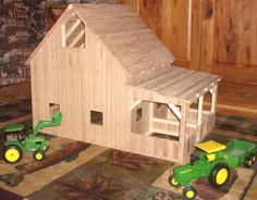 Wooden Toy Barn