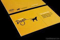 Business card design for I Prefer Dogs