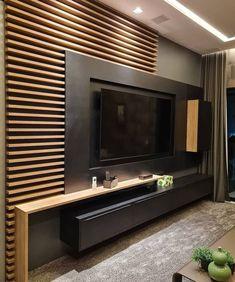 Tv Unit Bedroom, Bedroom Tv Wall, Living Room Wall Units, Living Room Tv Unit Designs, Tv Wall Unit Designs, Bedroom Tv Unit Design, Tv Unit Interior Design, Tv Wall Design, Interior Design Living Room