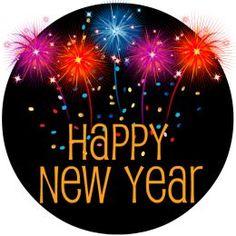 flashing happy new year animated happy new year pinterest rh pinterest com Animated Happy New Year 2018 Clip Art animated happy new year clipart 2017