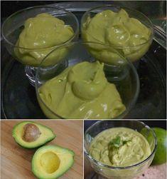 Mousse de Abacate Bem Cremoso Fácil »