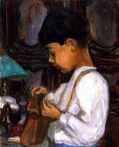Little Boy / Pierre Bonnard - circa 1904