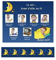 la routine du soir http://www.lespictogrammes.com/