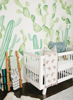 This California cacti nursery is setting standards high for the rooms we'll tour on Inspired by This this year! With it, comes desert plants, natural wood and neutral furniture, and a good dose of child-friendly toys and books.