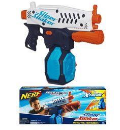 Las pistolas de agua son para el verano...