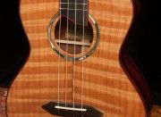 Curly Redwood Ukulele soundboard, Lichty Ukulele