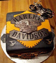 harley davidson wedding cakes | harley davidson cake groom see more about harley davidson and cakes