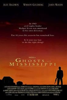 Ghosts of Mississippi is a 1996 American drama film directed by Rob Reiner and starring Alec Baldwin, Whoopi Goldberg, and James Woods. The plot is based on the true story of the 1994 trial of Byron De La Beckwith, the white supremacist accused of the 1963 assassination of civil rights activist Medgar Evers. #MSMovies