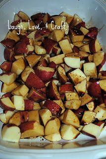 Balsamic Roasted Potatoes