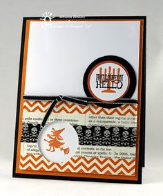 Stampin' Up! Washi Tape Halloween Hello