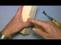 CARVING A MOUNTAIN MAN - YouTube