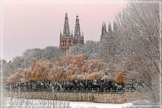 Catedral de Burgos nevada