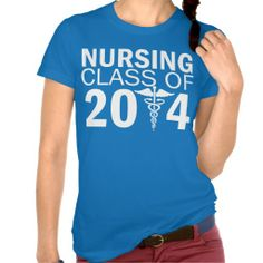 Nursing Class of 20XX Graduation T-Shirt