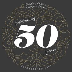 50th Anniversary of Purdue Christian Campus House on Behance