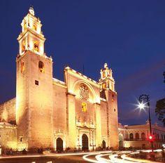 #Foto de la #CatedralDeMérida en #Twitter