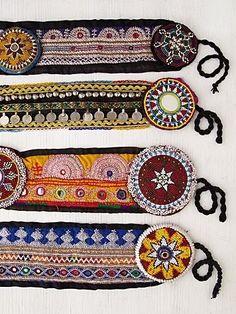 ☮ American Hippie Bohéme Boho Hair Style ☮ Belts