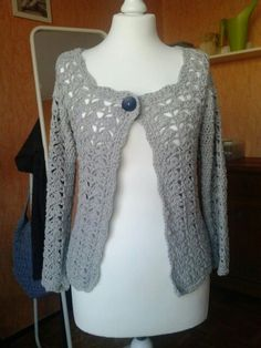 made with DROPS cotton light Cotton Lights, Knit Or Crochet, It Is Finished, Sweaters, Fashion, Moda, Fashion Styles, Pullover, Sweater