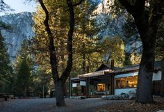 MBH Architects Gives The Ansel Adams Gallery in Yosemite Valley Some Gentle Modernizations | The Ansel Adams Gallery by MBH Architects. #design #interiordesign #interiordesignmagazine #projects #museums #art #outdoorspaces