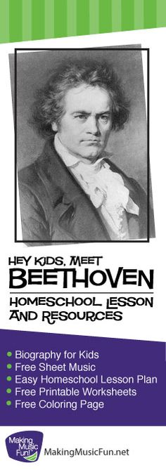 ludwig van beethoven homeschool music lesson plans and many more resources http