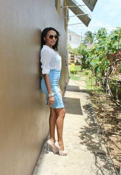 Ashleigh Em: Rise Of The Denim Skirt
