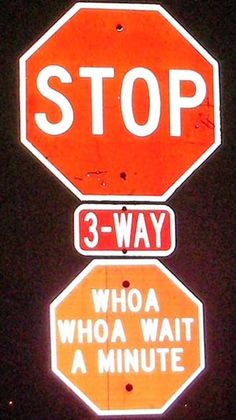 Hacked street signs