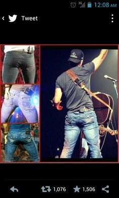 How perfect Luke Bryan's butt <3