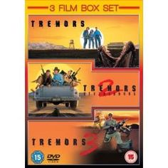http://ift.tt/2dNUwca | Tremors 1-3 DVD | #Movies #film #trailers #blu-ray #dvd #tv #Comedy #Action #Adventure #Classics online movies watch movies  tv shows Science Fiction Kids & Family Mystery Thrillers #Romance film review movie reviews movies reviews