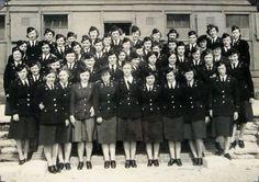 Nurses of the 38th Evacuation Hospital in England, 1942 ~