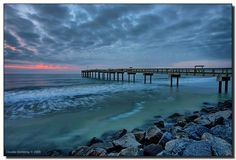 Begin the day at St. Augustine beach pier for sunrise #staugustineflorida