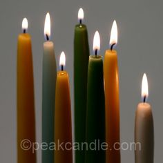 If you ever wanted to know how to make dipped taper candles, this candle making tutorial will show you how.