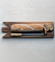 Walnut Baguette Bread Board/Cheese Board | Home Kitchen & Pantry | bonnbonn | Scoutmob Shoppe | Product Detail