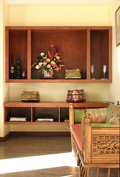 Contemporary Filipino Furnishings Update a Bahay-na-Bato Real Living Philippines Modern Filipino Interior, Modern Filipino House, Asian Interior, Tropical House Design, Tropical Houses, Philippine Houses, Restaurant Design, Traditional House, Interior Architecture
