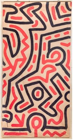 For Sale on - Untitled, Acrylic Paint by Keith Haring. Offered by Heather James Fine Art. Contemporary Artists, Modern Art, Retro Boutique, Art Basel Miami, Art Walk, Keith Haring, Beach Art, Pop Art, Art Gallery