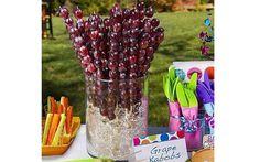30 opções de comidas práticas para festa de aniversário infantil - Filhos - iG