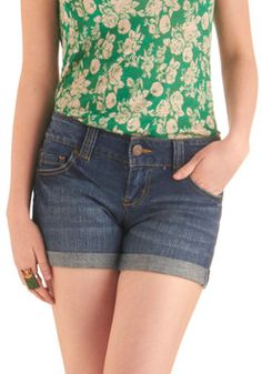 As Seasons Change Shorts, #ModCloth