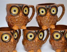 owl mugs - on the wish list