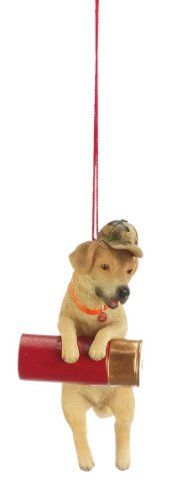 "Hunting hat pin: $4.99-$9.99 4.5"" Yellow Labrador Retriever Hunting Dog with Gun Shell Christmas Ornament - Yellow Lab with Gun Shell Christmas Ornament Item #903032 This yellow lab not only is man's best friend but a hunter's too with his large bullet shell and camouflage hat Fully dimensional ornament Ornament comes ready-to-hang on a red cord Dimensions: 4.5""H X 2""W X 2""D Material(s): resin http://www.amazon.com/dp/B005CQZF98/?tag=pin2wine-20"