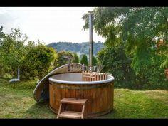 39 Houtgestookte Hottubs Buiten Spas Houten Kunststof Glasfiber Kopen Ideas Hot Tub Hot Tub Outdoor Outdoor Spa