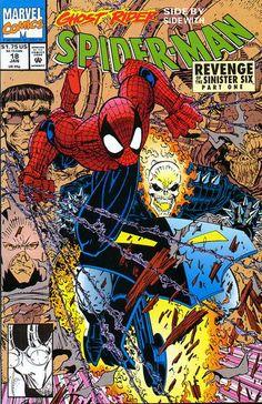 Spider-Man Comic Issue 18 Modern Age First Print 1992 Erik Larsen Parker Wright Univers Marvel, Marvel Comic Books, Comic Books Art, Book Art, Comic Superheroes, Marvel Characters, Spider Verse, Character Drawing, Comic Character