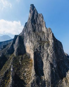 The prominent El Toro mountain in El Potrero Chico Mexico. Time Wave Zero starts up the left side and continues all the way to the summit 2300ft above. We climbed all night and watched the sun rise over the surrounding mountains. Absolutely perfect.  #wheretowillie #liveclimbrepeat #epcclimbing