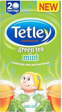 Tetley Green Tea Mint 20  Pack of 6 *** You can get additional details at the image link. (This is an affiliate link and I receive a commission for the sales)