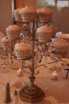 Cupcake Stand Centerpiece