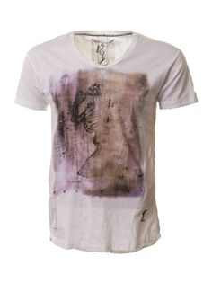 Religion Clothing T-Shirt Praying Colour Wash Short Sleeve In White