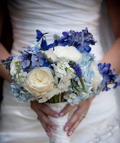 Frühling Brautstrauss Vergissmeinnicht Spring Wedding Bouquets Forget-me-nots | HappyWedd.com
